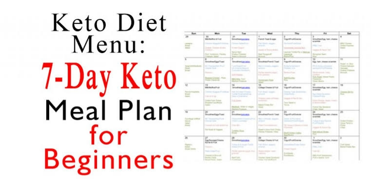 7 day keto meal plans