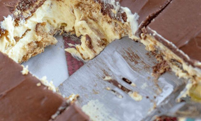Keto Chocolate No Bake Eclair,